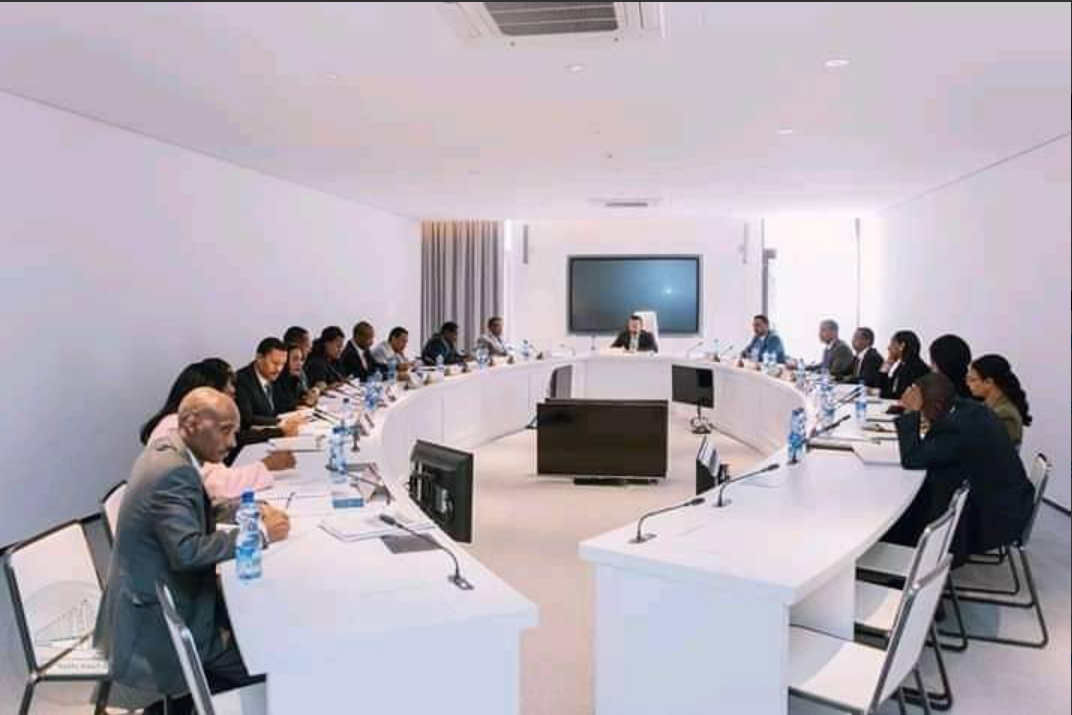 Image result for meeting of ministers of ethiopia