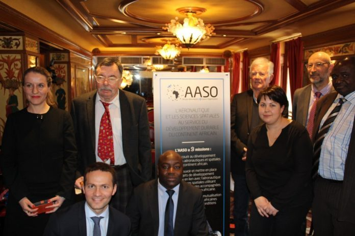 AASO team and delegates of foreign partners in Paris
