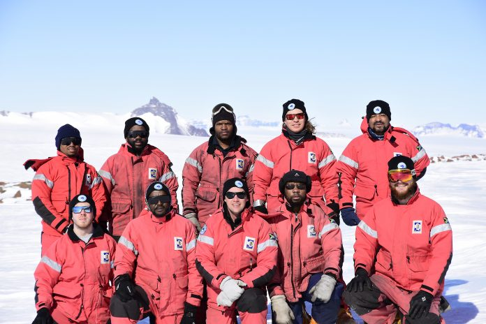 South Africa SANAE57 Team Research in Antarctica