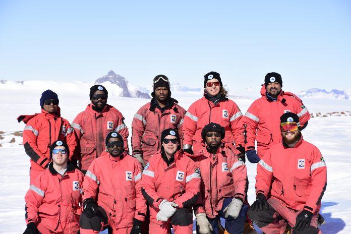 South Africa SANAE57 Team Research in Antarctica