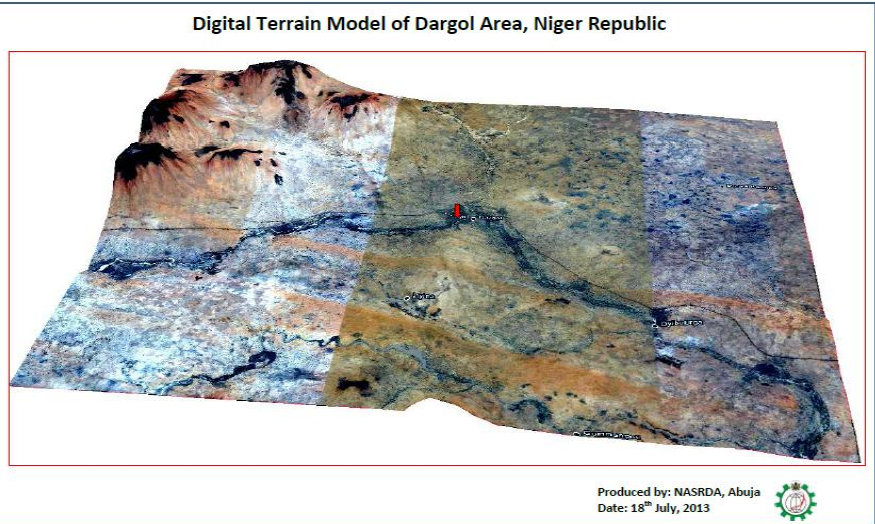 Image mapping and Terrain Analysis of Dargol Area, Niger Republic