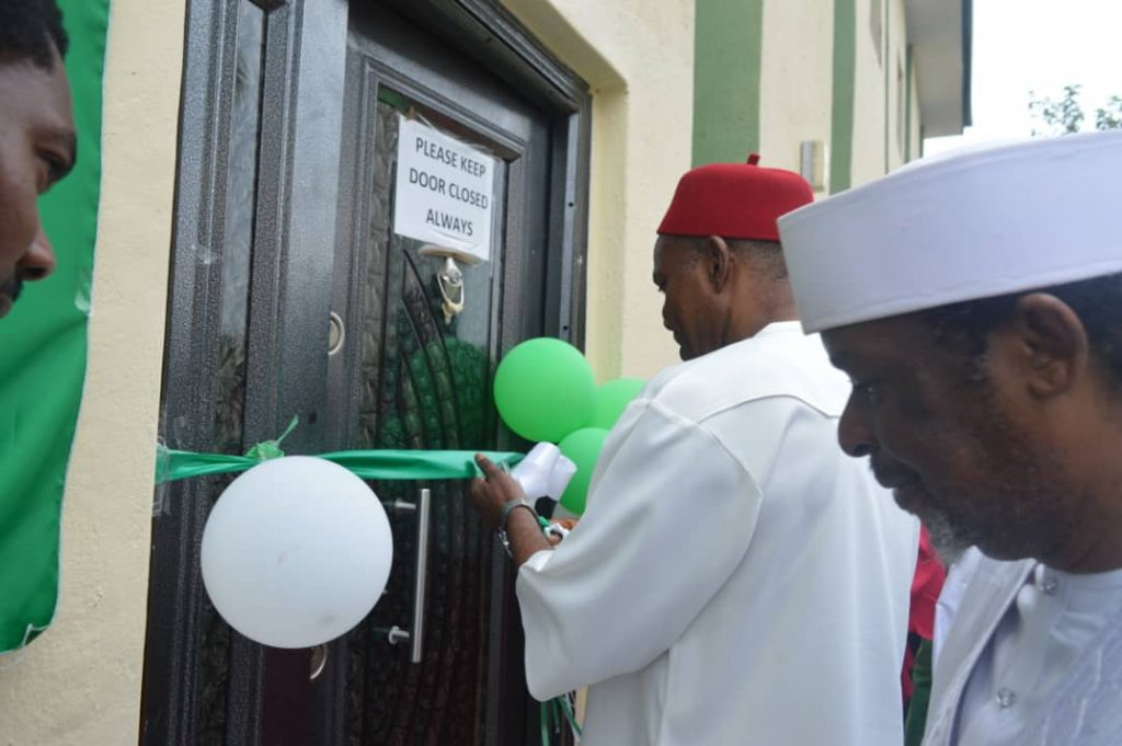 NASRDA commissions new institute, space incubation centre