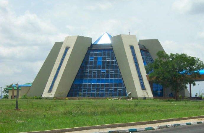 NASRDA Strategic Space Application Building