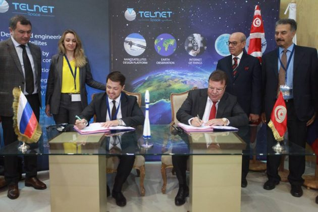 Tunisian Company Signs Deal With Russian Companies To Launch 30 Satellites by 2023