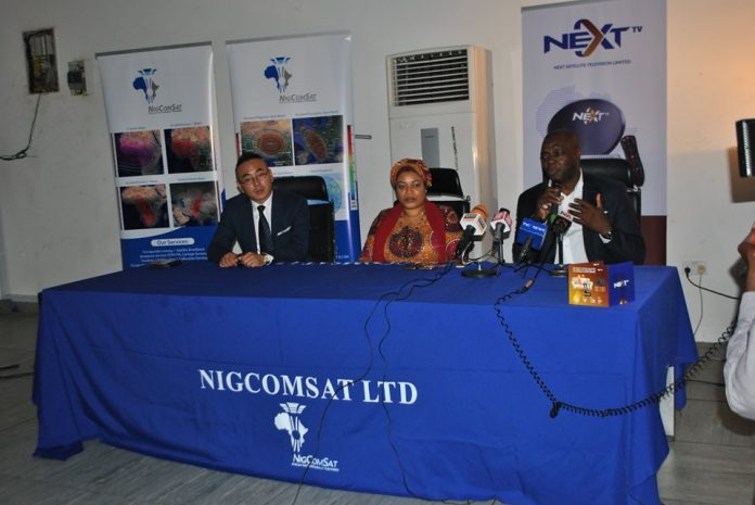 NIGCOMSAT inaugurates NextTv, a new satellite Direct-to-Home platform