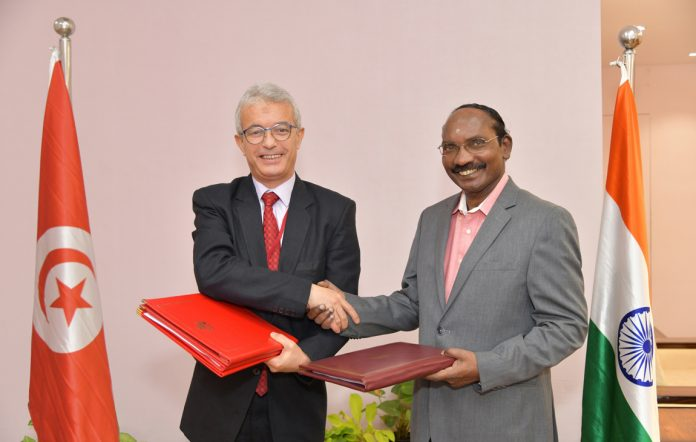 Tunisia and India Sign a Memorandum of Understanding on Space Cooperation