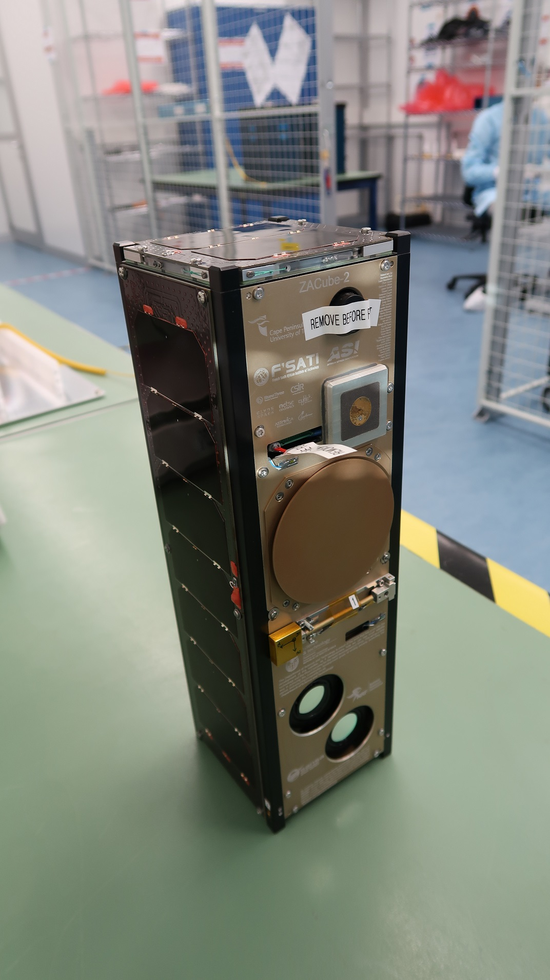 Amaya Space ZACube-2