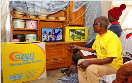 Azuri Technologies Launches PayGo Solar Satellite TV