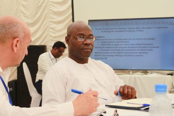 Dr Aboubakar Mambimba Ndjoungui Deputy General Manager Gabonese Space Agency AGEOS Ndjoungui