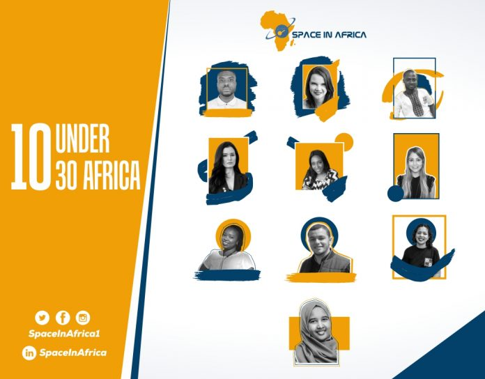 African Space Industry 10 Under-30 Young Space Professionals