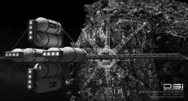 Asteroid Mining in Africa
