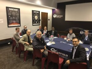 SANSA In Bilateral Discussion With The UK Space Agency