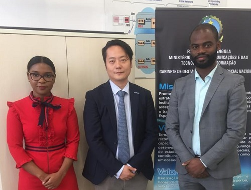 Delegation Of China Great Wall Industry Corporation Visits Angola Space Agency