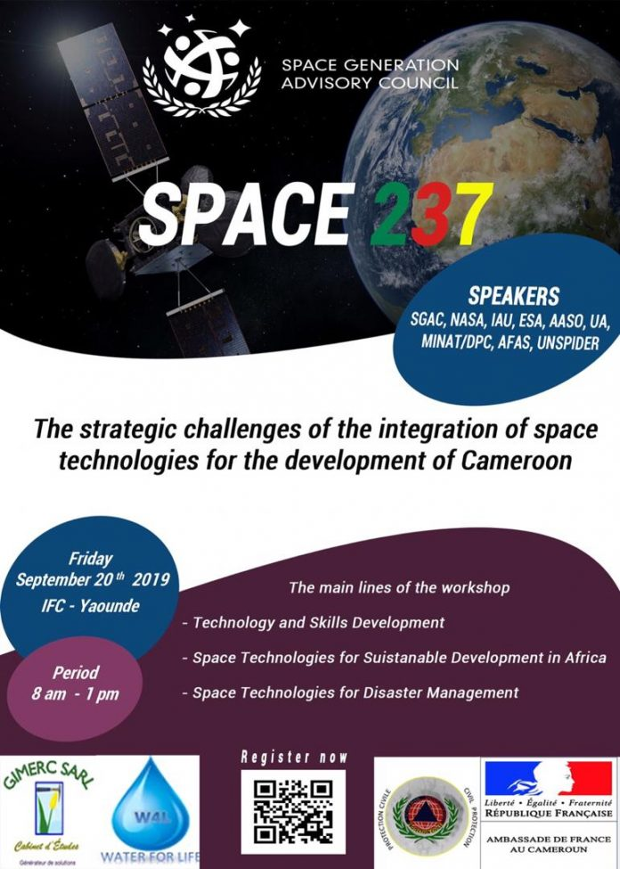 SGAC Cameroon Is Organizing A Space Workshop for Young Professionals