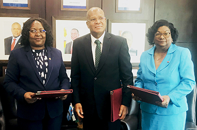 Angola Sings Charter Establishing SADC Monitoring Control and Surveillance Coordination Centre