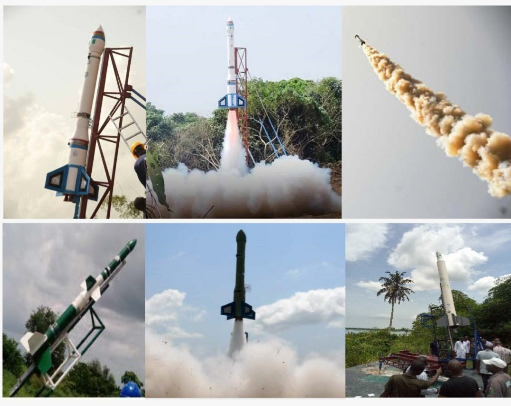 NASRDA CSTP Completes Three Successful Experimental Rocket Launches