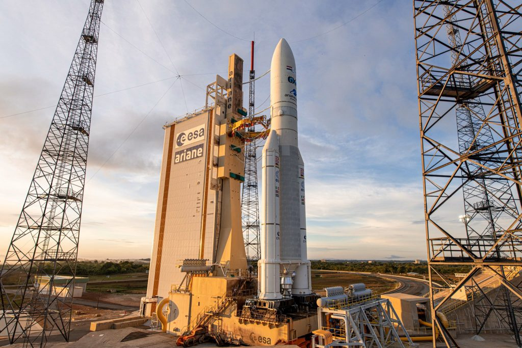 Arianespace postponse launch of TIBA-1 satellite
