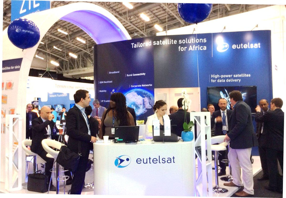 Eutelsat Signs Deal In Congo