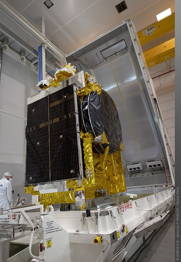 Egypt's TIBA-1 Communications Satellite To Be Launched On 22 November