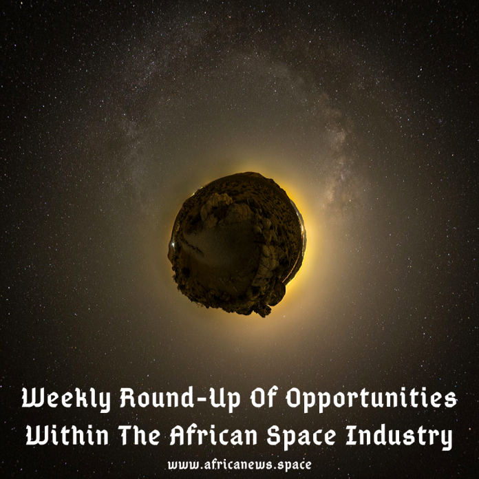 Weekly Round-Up Of Opportunities Within The African Space Industry (13)