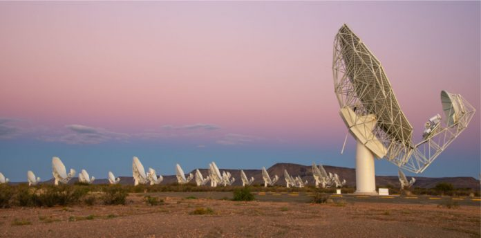 MeeKAT 64-dish array precursor to SKA Africa