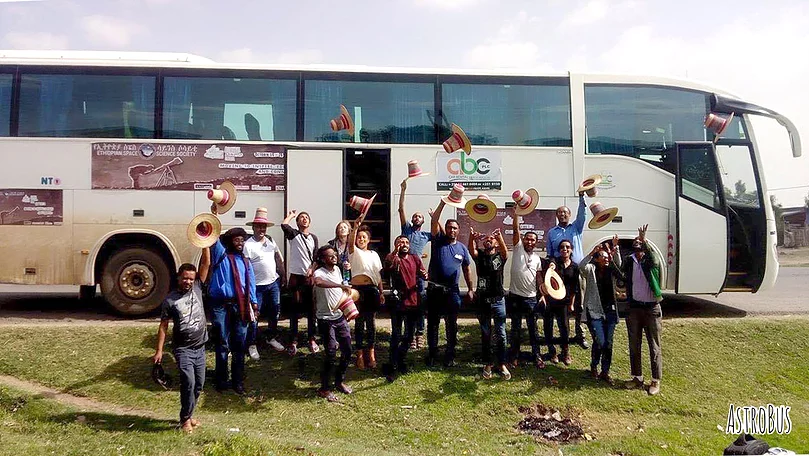 Astrobus Ethiopia En route To Inspire The Country's Next Generation Space Scientists And Astronomers