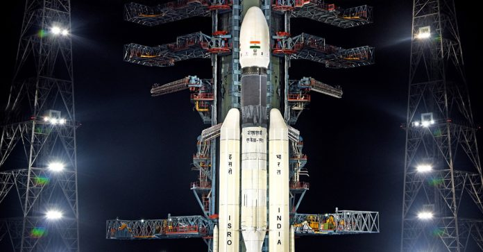 SANSA Tracked Mission Chandrayaan-2