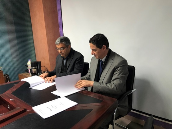 CTS signs Agreement to train Algerian Land Surveyors.