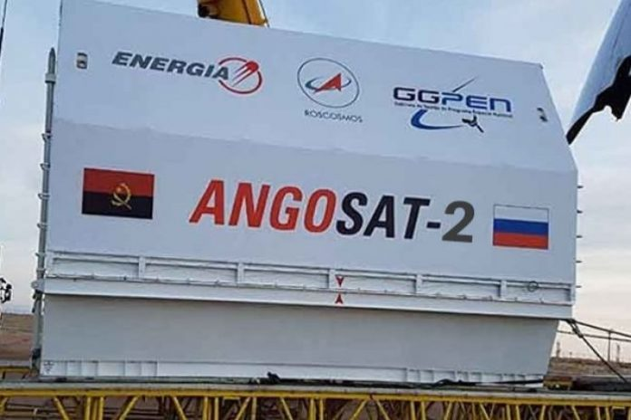 AngoSat is 50 per cent completed