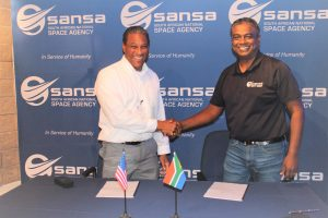 SANSA NASA sign a Deep Space Communications study agreement