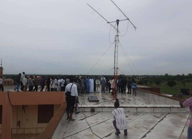 Burkina Faso Unveils Ground Station And Begins Construction Of Its First Satellite BurkinaSat-1