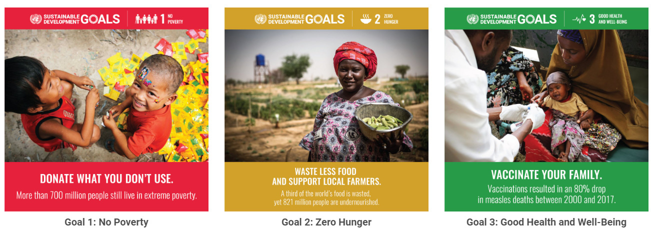 The UN has identified a number of goals to make the world a better place