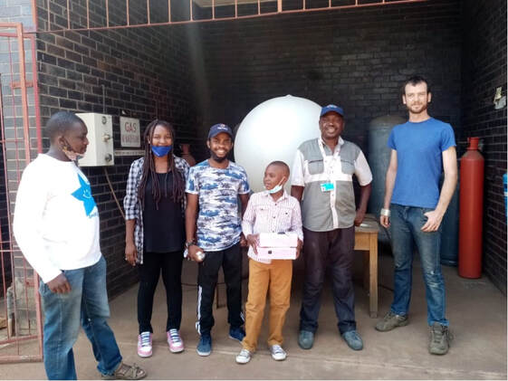 Zimbabwean Students Launch High Altitude Balloon Discover Mission