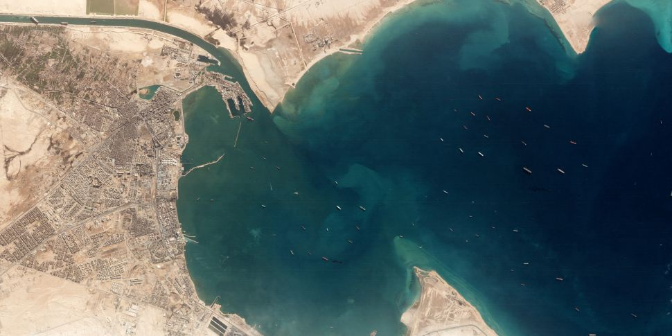 - 1 ever given - HOW THE SUEZ CANAL INCIDENT IS A GOOD USE OF SPACE TECHNOLOGIES IN AFRICA