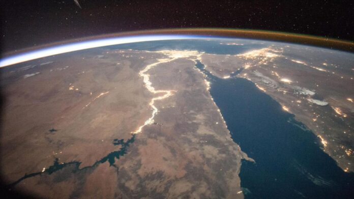- Africa From space 696x392 - Guidelines for the Long-term Sustainability of Space Activities