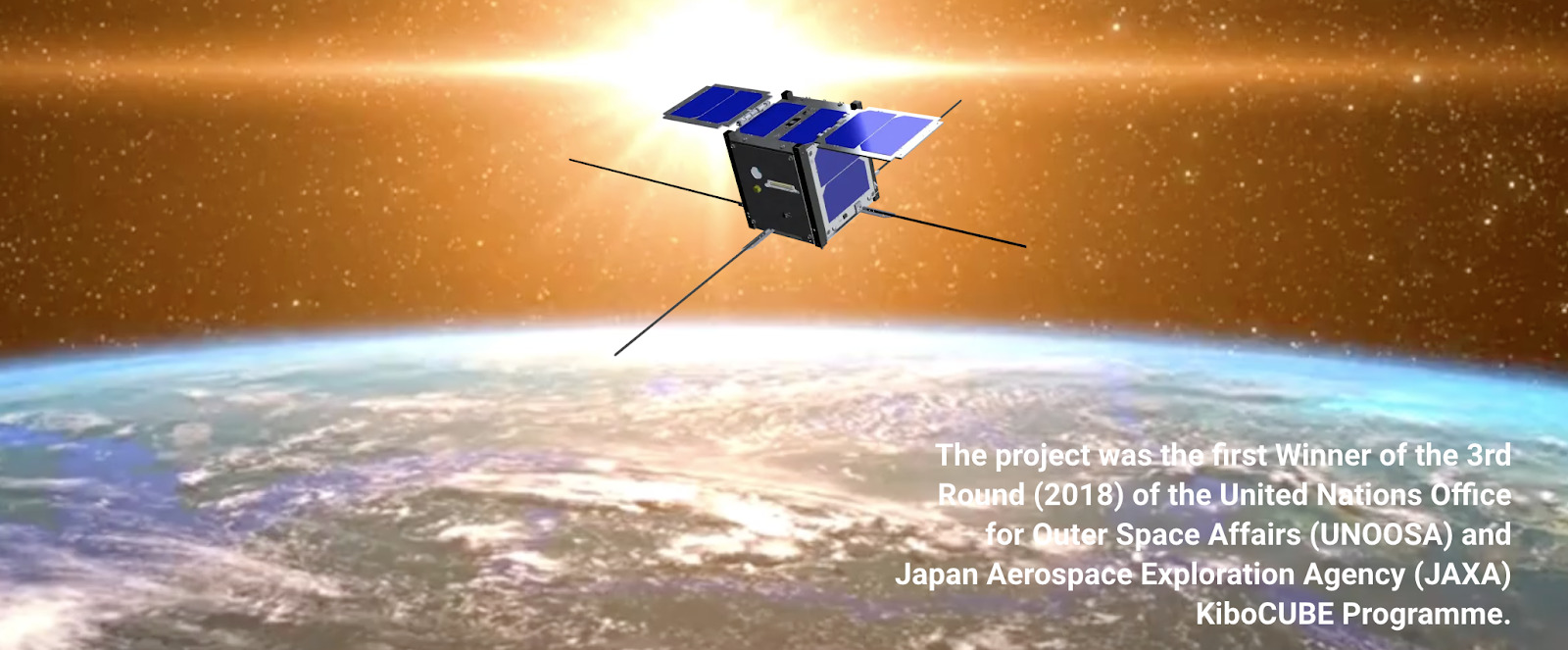 - M7 - The Dawn of A New Space Age for Mauritius – Launch of the first Mauritian Satellite: MIR-SAT1