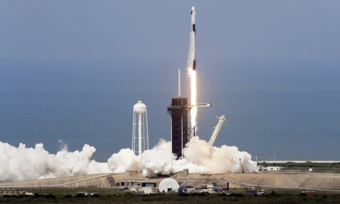 - spacexxx 696x418 - Mauritius Launches First Satellite – Space in Africa